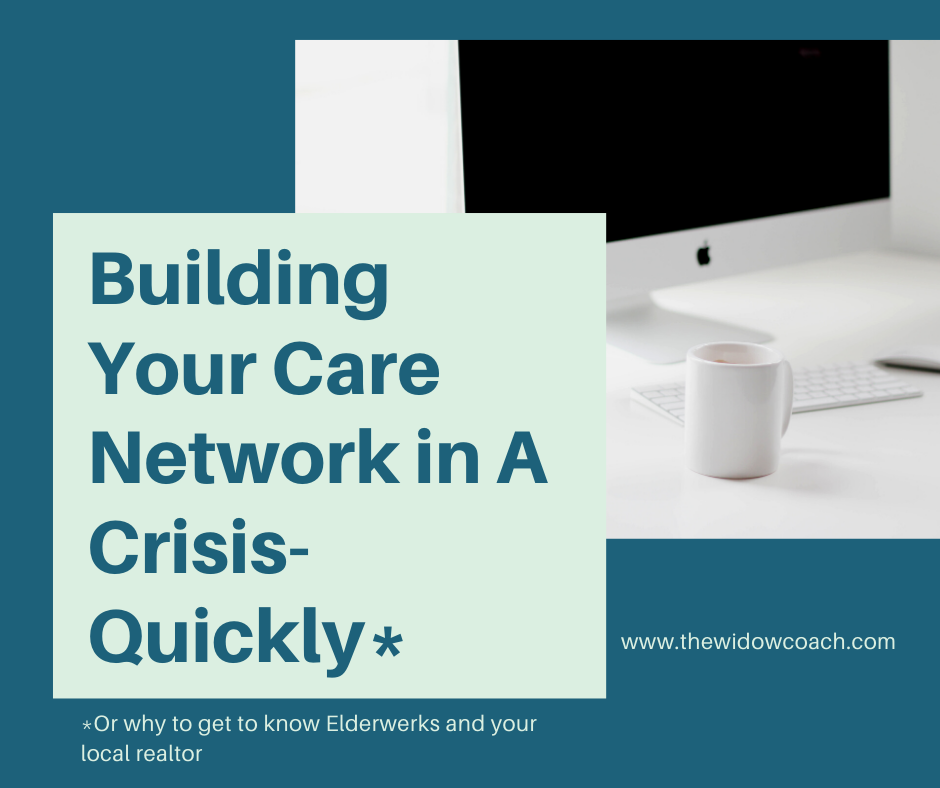 Building Your Care Network in a Crisis Quickly